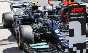 """Chefe da Mercedes aponta falha em sensor no carro de Bottas em Portugal: """"Foi lamentável"""""""