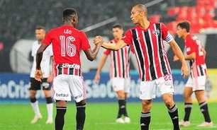 São Paulo tem dois tempos distintos em empate contra o Corinthians