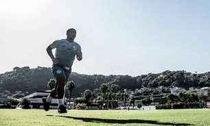 Carlos Sánchez evolui nos treinos, mas ainda não tem data para voltar