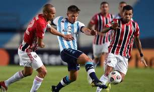 Em jogo truncado, São Paulo empata com o Racing na Argentina