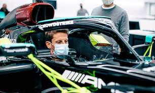 Mercedes cumpre promessa e confirma teste de Grosjean com W10 em Paul Ricard