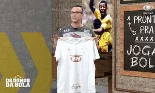 Neto participa de campanha da nova camisa do Cruzeiro e dirigente explica escolha