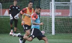 Daniel Alves e Luciano têm lesões e desfalcam o São Paulo