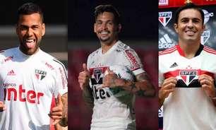 Com lesões, São Paulo terá que colocar elenco a prova