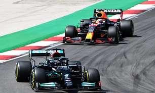 F1: Mercedes domina treinos, mas Verstappen ainda ameaça