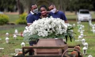 Brasil tem 2ª feira com menos mortes nas últimas 10 semanas