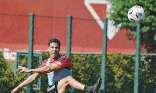 São Paulo treina com reservas para encarar o Rentistas; veja escalação