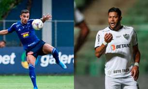 Hulk comenta treta com Pottker após clássico entre Atlético-MG e Cruzeiro: 'Se eu quisesse renderia até processo'