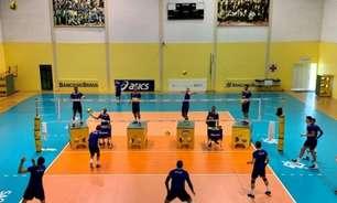 Seleção masculina de vôlei fará três jogos amistosos contra a Venezuela no Rio