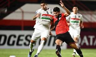Em casa, Atlético-GO aperta Palestino, mas empata pela Copa Sul-Americana