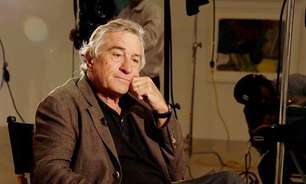Robert De Niro sofre acidente no set do novo filme de Martin Scorsese