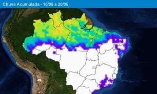 Chuva diminui nas Regiões Norte e Nordeste do Brasil