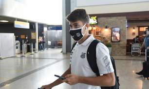 Santos embarca para a Bolívia sem o atacante Marinho