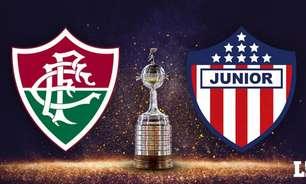 Fluminense x Junior Barranquilla: onde ver, prováveis times, desfalques e palpites