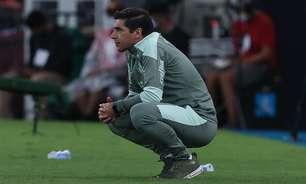 Mesmo com eliminação, Abel confia em evolução do Palmeiras
