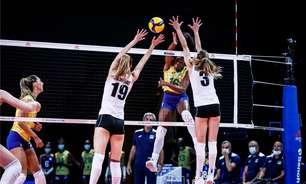 Brasil derrota Bélgica e assume vice-liderança da Liga das Nações Feminina
