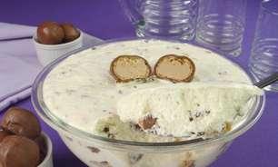 Mousse de leite condensado com Sonho de Valsa®