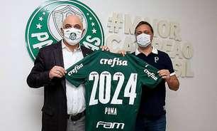 Direção do Palmeiras anuncia a renovação de contrato com a Puma até 2024