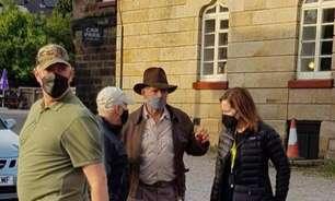 Harrison Ford volta a viver Indiana Jones