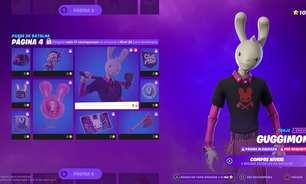 Saiba quem é Guggimon, coelho influencer que chegou ao Fortnite