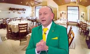 Hang atrai olhares ao jantar em restaurante de ricos em SP