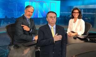 Bolsonaro deve ter gaguejado de raiva com o 'JN' de ontem