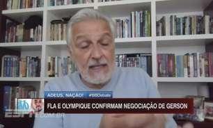 Sormani critica permanência de Pedro e venda de Gerson no Flamengo: 'Luxo desnecessário'