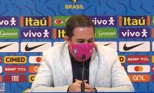 Jardine fala sobre convocação final da Seleção olímpica: 'Queremos fazer um grupo digno da nossa expectativa'