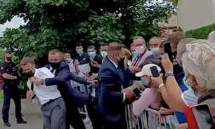 Preso por dar tapa em Macron é entusiasta de artes marciais