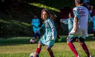Aos 10 anos, Miguel Reis é tratado como joia no Fluminense e pais elogiam estrutura