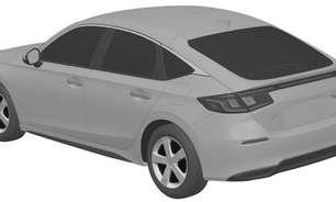 Honda divulga primeiro teaser do novo Civic hatch 2022