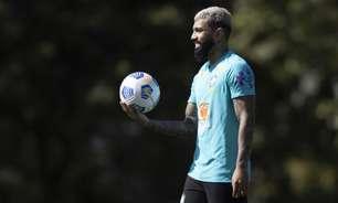 Após divergência com o Flamengo, Gabigol se apresenta à Seleção Brasileira para a Copa América
