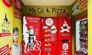 Máquina de fazer pizza ganha destaque em Roma e no mundo