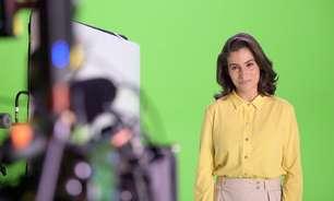 Renata Vasconcellos se emociona com quadro sobre jornalistas