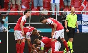 Jogo da Euro é suspenso após atleta ter convulsão em campo