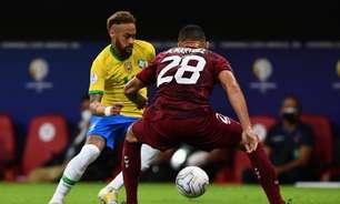 Neymar quebra 'tabu pessoal' contra a Venezuela e corre atrás de marca de Pelé na Seleção Brasileira