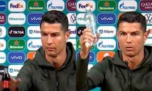 Coca-Cola tem queda brutal de 4 bilhões de dólares com gesto de Cristiano Ronaldo