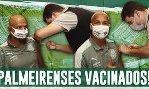 Boletim: Elenco do Palmeiras recebe vacina contra Covid-19; direção recusa oferta por Miguel Borja