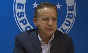 Ex-CEO do Cruzeiro, Vittorio Medioli diz que falência pode ser decretada se não separar clube social do futebol