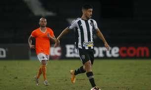 Marcinho fica fora da relação do Botafogo e não joga contra Londrina, pelo Brasileirão