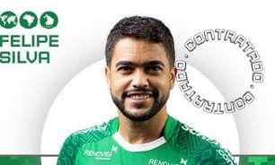 Felipe Baxola é apresentado pela Chapecoense