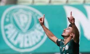 Palmeiras sofre mas vira nos acréscimos sobre o América-MG
