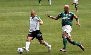 Boa partida do América-MG diante do Palmeiras não 'esconde' falhas do time em momentos decisivos