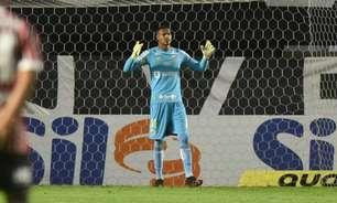 Após clássico, goleiro do Santos preocupa comissão técnica