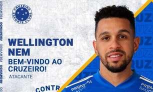Cruzeiro anuncia a contratação de Wellington Nem, antes da punição da Fifa