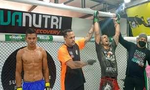 Sul Fluminense Fight Night, em Três Rios (RJ), tem lutas empolgantes e show de nocautes; veja mais