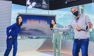 Michelle Barros substitui Rodrigo Bocardi na apresentação do 'Bom Dia São Paulo'