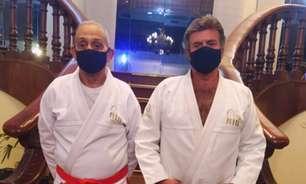 Presidente do Supremo, Fux recebe homenagem no Jiu-Jitsu: 'Magia'