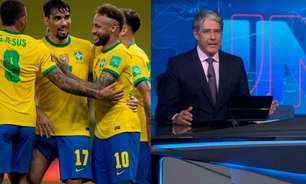 Tentando segurar audiência da Copa América no SBT, Globo aumenta duração de 'Jornal Nacional'
