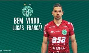 Goleiro Lucas França chega por empréstimo ao Guarani